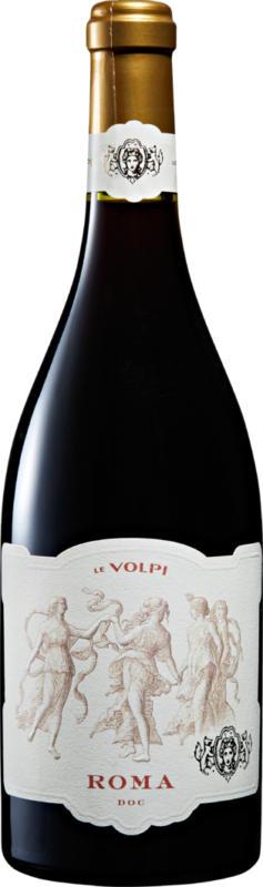 Le Volpi Roma DOC Rosso, 2019, Latium, Italie, 75 cl