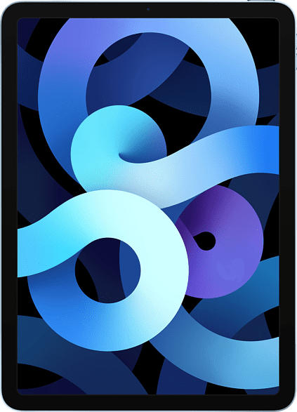 APPLE iPad Air Wi-Fi (2020), Tablet , 256 GB, 10.9 Zoll, Sky Blau
