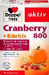 dm-drogerie markt Doppelherz Cranberry +  Kürbis + Vitamin C + Selen Kapseln 30 St.