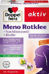 Doppelherz Meno Rotklee + Nachtkerzenöl + Biotin Kapseln 30 St.