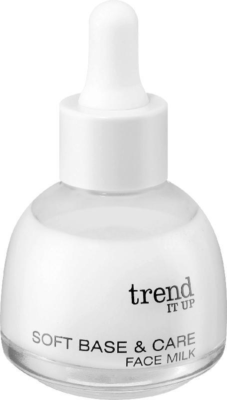 trend IT UP Basis Soft Base & Care Face Milk transparent