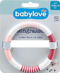 babylove Ringrassel rosa