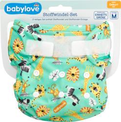 babylove Stoffwindel-Set Safari