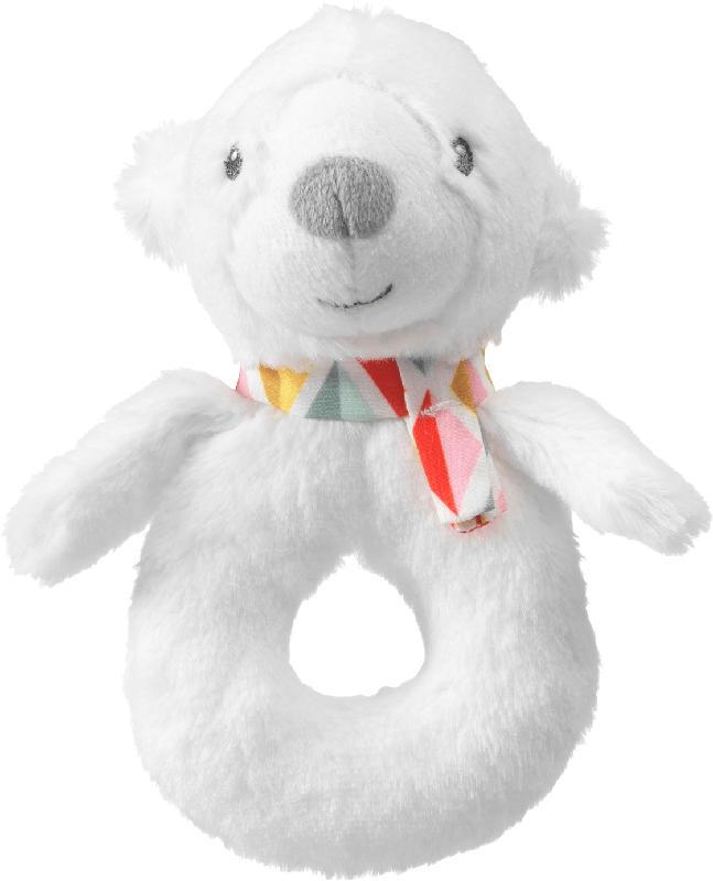 PUSBLU Greifling Eisbär, weiß