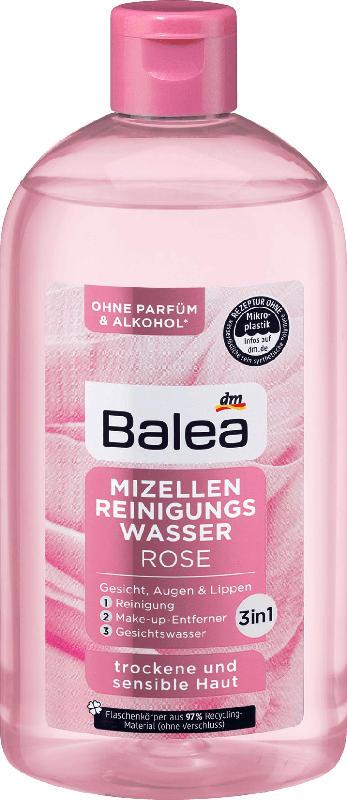 Balea Mizellen Reinigungswasser Rose