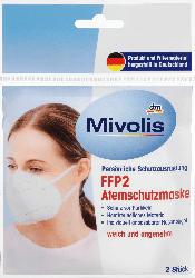 Mivolis FFP2 Atemschutzmaske Einweg