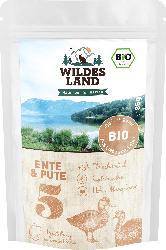 Wildes Land Nassutter für Katzen, Bio Ente & Pute Nr. 5