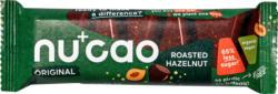 nucao Schokoladen-Riegel Haselnuss mit Hanfsamen & Mandeln