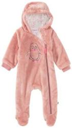 Baby-Mädchen-Overall aus Plüsch