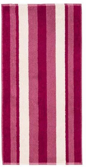 Handtuch mit Blockstreifen, 50x100cm