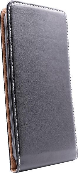 AGM 28369 , Flip Cover, Huawei, P30 Pro, Obermaterial Kunstleder, Thermoplastisches Polyurethan, Schwarz