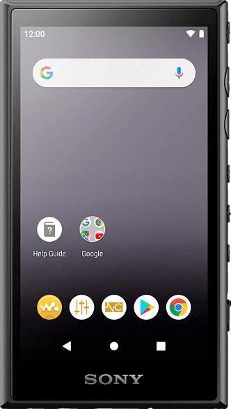 SONY Walkman NW-A105 Android 9.0 Mp3-Player (16 GB, Schwarz)