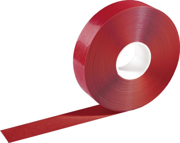 DURABLE DURALINE STRONG Bodenmarkierung, Rot