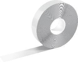 DURABLE DURALINE STRONG Bodenmarkierung, Weiß