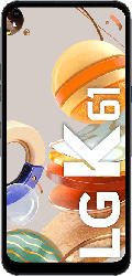 LG K61 128 GB Titan Dual SIM