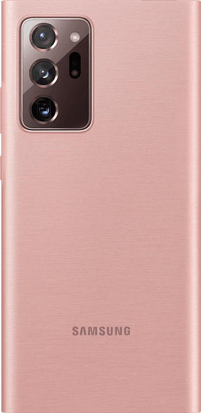SAMSUNG EF-NN985 , Bookcover, Samsung, Galaxy Note20 Ultra 5G, Polycarbonat, Thermoplastisches Polyurethan, Braun