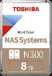 MediaMarkt TOSHIBA TOSHIBA NAS-Festplatte N300, interne HDD, 8 TB, 8 TB Interner Speicher, HDD, 3.5 Zoll, intern