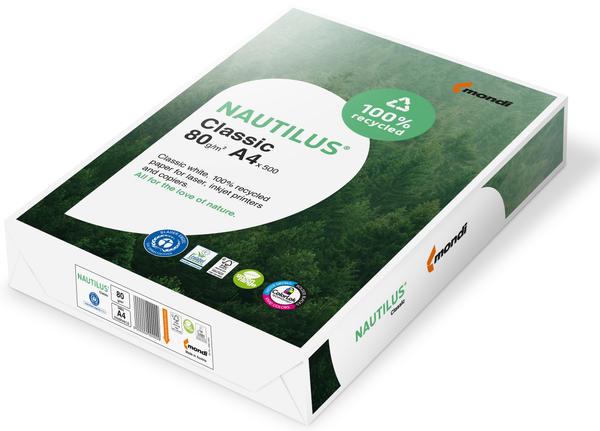 "NAUTILUS Multifunktionspapier ""Classic"" A4 500 Blatt weiß"