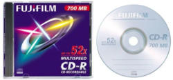 Fuji CD-R 1 Stk. 700 MB, 80 Min, Jewel Case