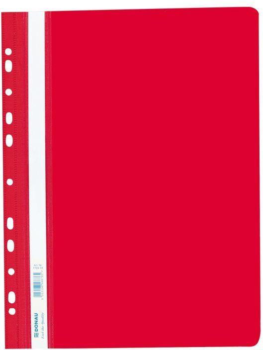 Donau Schnellhefter Multilochung A4, rot
