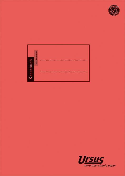 """URSUS BASIC Kassabuch A4 """"T440/2"""" 40 Blatt"""