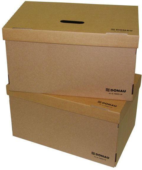 DONAU Archiv-Container 52 x 34 x 30,5 cm