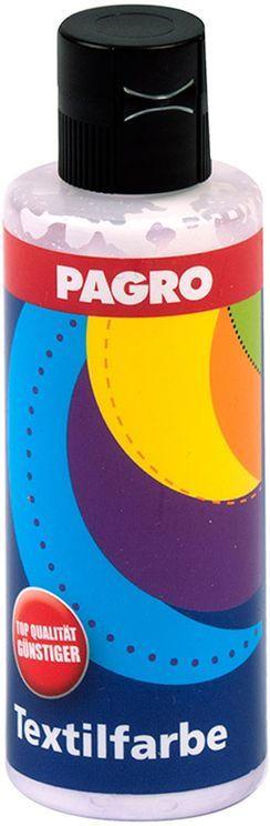 PAGRO Textilfarbe 80 ml weiß