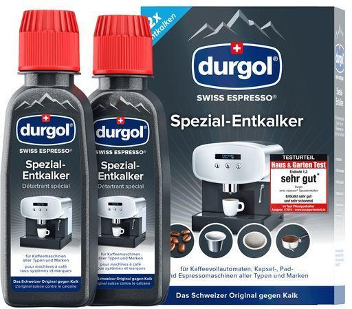 DURGOL Swiss Espresso Entkalker 2 x 125 ml