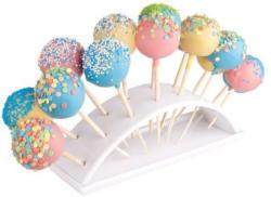 Cake Pops Halter aus Porzellan weiß