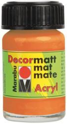 "MARABU Acrylfarbe ""Decormatt Acryl"" 15 ml orange"