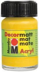 "MARABU Acrylfarbe ""Decormatt Acryl"" 15 ml mittelgelb"