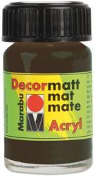 "MARABU Acrylfarbe ""Decormatt Acryl"" 15 ml dunkelbraun"