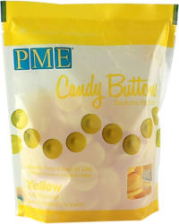 PME Candy Buttons 340 g gelb