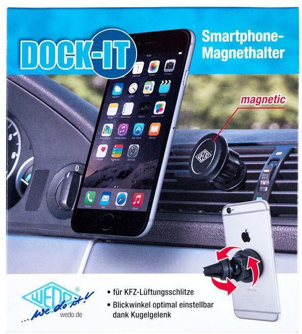 """WEDO Smartphone Halter """"Dock-it"""" schwarz"""