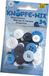 FOLIA Knöpfe-Mix 30 g blau