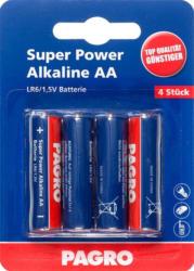 "PAGRO Batterie ""Super Power Alkaline AA"" 4 Stück"