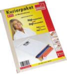 Pagro COLOMPAC Kurierpaket 24,4 x 34,4 x 1,5 cm 2 Stück weiß