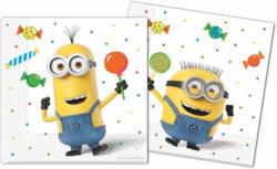 """Servietten """"Minions - Ballon Party"""" 33 x 33 cm 20 Stück"""