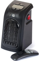 "MEDIASHOP Mini-Heizung ""Handy Heater"" inkl. Fernbedienung 370 Watt schwarz"