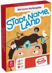 "SHUFFLE Kartenspiel ""Stadt, Name, Land"" 2 x 55 Karten"