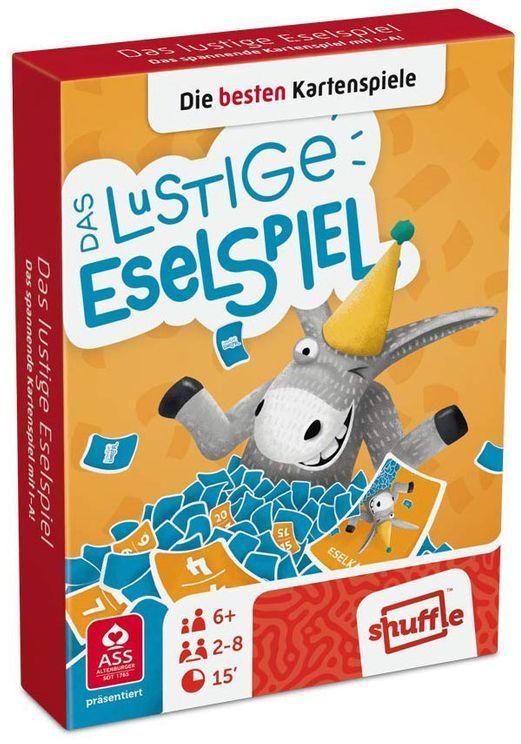 """SHUFFLE Kartenspiel """"Das lustige Eselspiel"""""""