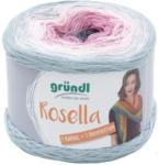 "Pagro GRÜNDL Wolle ""Rosella"" 200g pflaume/rosa/grau"