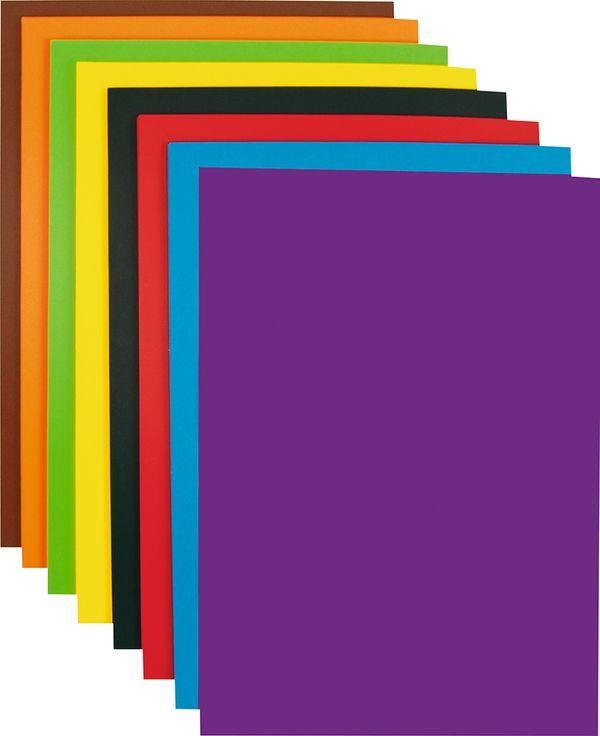 FOLIA Tonpapier DIN A3 1 kg verschiedene Farben