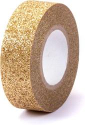 """Washi Tape """"Glitzer"""" 15 mm x 5 m gold"""