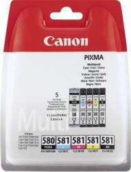 Canon Ink Multi Pack PGI-580|CLI-581 C|M|Y + Black Pigment + Photo Black