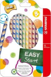"""STABILO Buntstifte """"EASYcolors"""" für Linkshänder inkl. Spitzer 12 Stück mehrere Farben"""