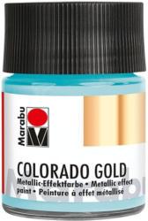 "MARABU Metallic-Effektfarbe ""Colorado Gold"" 50 ml blau-silber"
