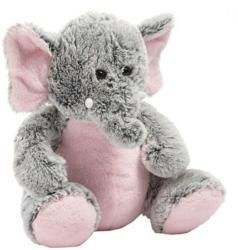 """Plüschtier """"Elefant"""" 42 cm grau/rosa"""