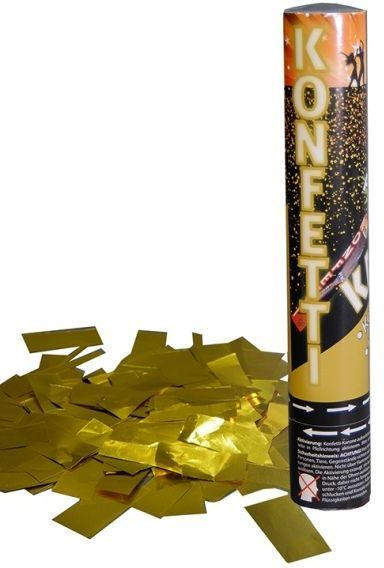 Party Popper 30 cm gold