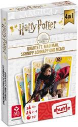 "SHUFFLE Kartenspiel ""Harry Potter Quartett 4-in-1"" 32 Karten"